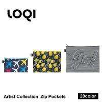 ■商品名 LOQI ジップポケット ■ポイント LOQI Zip Pocketsは3サイズがセット。...