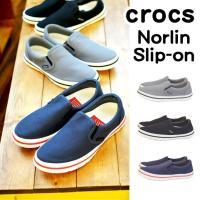 ■商品名:ノーリン スリップオン Crocs クロックス  ■ポイント: 軽くて快適なクロックスの新...