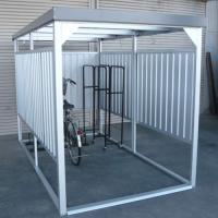 【ダイマツ×環境生活】自転車置き場 ダイマツ多目的万能物置 DM-14壁面パネルショート型  ※お客様組立品 送料無料|eco-life|02