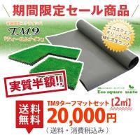 初心者向けの芝生セット。芝生はティーエムナイン高麗芝を使用。 通常1平米20,000円で販売している...