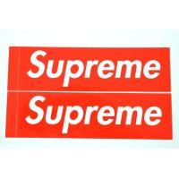 2枚セット 定番★Supreme シュプリーム ステッカー ボックスロゴ