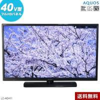 中古 SHARP フルHD液晶テレビ AQUOS 40V型 (2014年製) LC-40H11 LEDバックライト○439v26