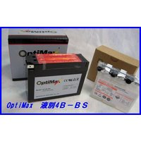 バイクバッテリー OPTIMAX GTR4B-BS 仕様:カルシウム極版。容量:12V2.3Ah/1...