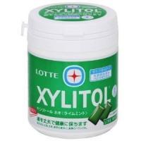 キシリトール ガム ボトル ライムミント 緑 ロッテ LOTTE 特定保健用食品