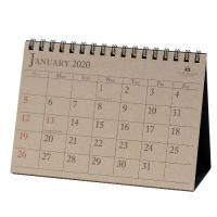 カレンダー 卓上 A6 2020年 1月始まり アンティーク シンプル 公式通販サイト
