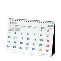 カレンダー 4月始まり 卓上 A5 2020年 シンプル 公式通販サイト2/20発売