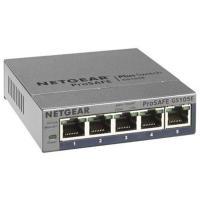 GS105E 「ライフタイム保証」。ギガ5ポート。VLAN、QoS対応。アンマネージプラス・スイッチ...