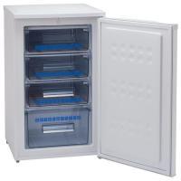収納便利な前開き冷凍庫。