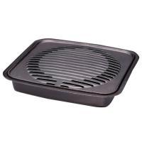 カセットフー専用に開発した鉄鋳物製の焼肉グリル。便利な補助取っ手付きです。