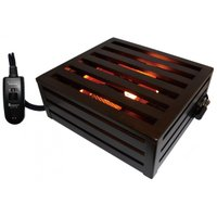定格 AC100V 600W 50-60Hz 発熱体 ハロゲンヒーター 温度調整 手元電子コントロー...