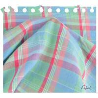 【値下】チェック8分袖のシャツ 綿100% 八分袖 レディス シャツワンピ カジュアル韓国製