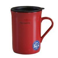レンジ加熱・食洗器対応フタつきマグカップ