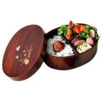 【木のお弁当箱ならでは】 木製の曲げわっぱ 弁当箱です。 曲げわっぱにうるしを幾度もすり込んで仕上げ...