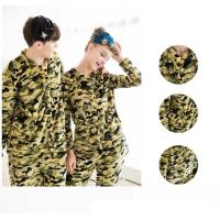 今冬ピッタリのあったかふわふわ迷彩ペアパジャマです。  着るだけで格好がつく迷彩柄はクールなデザイン...