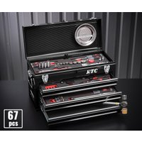 在庫有 KTC 工具セット 9.5sq. 67点ツールセット (豪華特典付) SK36718XBK