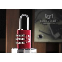 世界的に定評のあるドイツABUS社製のナンバー可変式南京錠です。  鍵を持ち歩く必要の無いダイヤル式...