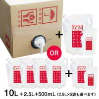 次亜塩素酸水 ジアニスト 2500mL×4袋 選べる10L 500ppm
