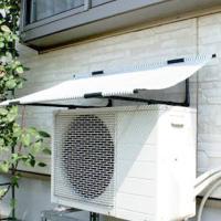 エアコン室外機 日よけのシート DIY 商品管理番号:4968438015484 エアコン室外機用日...