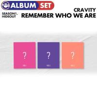 【ポスター(丸めて)付、1次予約】【 3種セット /  CRAVITY SEASON1. [HIDEOUT: REMEMBER WHO WE ARE] 】 クレビティ デビュー アルバム  X1  CD