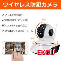 室内用防犯カメラです、有線LAN接続、或いは無線wifi接続だけで, PCやスマホで遠隔監視、録画、...