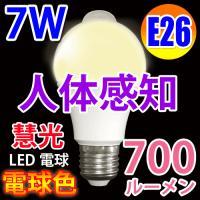 人感センサー付きLED電球   普通の電球と交換するだけで、家の照明がセンサーライトになります! ト...