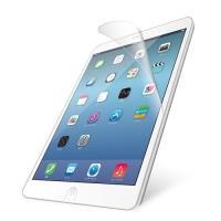 気泡がキレイに抜けるエアーレスタイプ。iPad Airの液晶画面をキズや汚れから守る、防指紋タイプの...