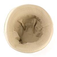 帽子 ハット レディース セーラーハット コットン 洗い仕上げ ベージュ