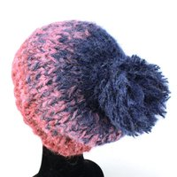 ニット帽 メンズ 冬 秋 レディース 帽子 グラデーションカラー ニットワッチ ビーニー スノーボード ワイン
