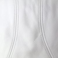 ハンチング メンズ 帽子 レディース レディス レザーハンチング ニューヨークハット 牛革 Lamba 1900 白 ホワイト