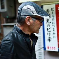ハンチング シナコバ キルト 帽子 メンズ ハンチング帽 キルティング 秋 冬 紳士 SINACOVA ブランド グレー