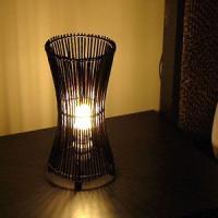 アジアン雑貨・バリ雑貨!ランプ・ライト・照明に使える♪上品なデザインのアジアンランプ。深みのあるダー...