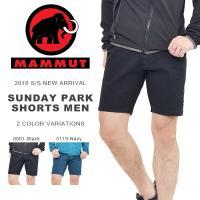MAMMUT SUNDAY Park Shorts Men マムート サンデー パーク ショーツ 紳...