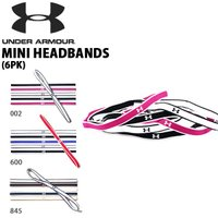アンダーアーマー(UNDER ARMOUR) UA MINI HEADBANDS (6PK) になり...
