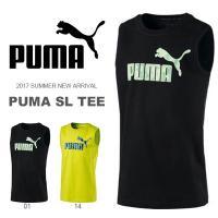 PUMA SL TEE プーマ スリーブレス Tシャツ キッズ・ジュニア・子供・子ども用  コットン...