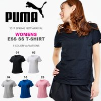 PUMA WOMENS ESSENTIAL SS T-SHIRT プーマ ウィメンズ エッセンシャル...