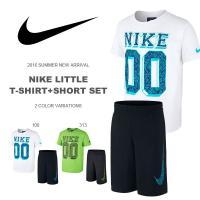 NIKE LITTLE T-SHIRT+SHORT SET ナイキ リトル Tシャツ+ショート セッ...