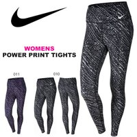NIKE WOMENS POWER PRINT TIGHTS ナイキ ウィメンズ パワー プリント ...