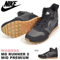 NIKE WOMENS MD RUNNER 2 MID PREMIUM ナイキ ウィメンズ MD ラ...