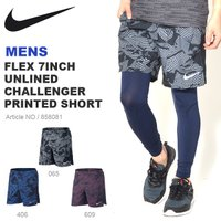 NIKE FLEX 7INCH UNLINED CHALLENGER PRINTED SHORT ナ...