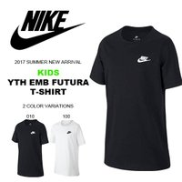 NIKE YTH EMB FUTURA T-SHIRT ナイキ YTH エンブ フューチュラ Tシャ...