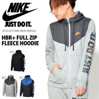 NIKE HBR+ FULL ZIP FLEECE HOODIE ナイキ HBR+ フルジップ フリ...