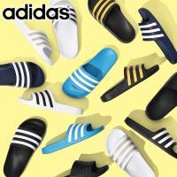 スポーツサンダル アディダス adidas メンズ レディース ADILETTE AQUA アディレッタアクア シャワーサンダル 3本ライン 2019夏新色 得割25