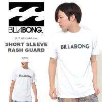 ビラボン(BILLABONG)ラッシュガード サーフ 水着 Tシャツ  UV PROTECTION ...