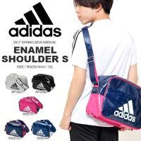 adidas (アディダス) エナメル ショルダーS になります。  通学、部活、クラブ活動の定番!...