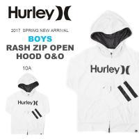 HURLEY(ハーレー)長袖 ラッシュガード 男の子・女の子・こども用  UVカット機能を備えたラッ...
