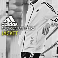 adidas (アディダス) M 24/7 ウォームアップジャージジャケット になります。  メンズ...