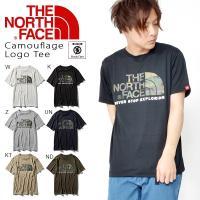 THE NORTH FACE (ノースフェイス) Camouflage Logo Tee(カモフラー...