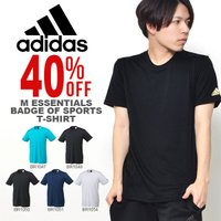 adidas (アディダス) M ESSENTIALS Badge of Sports Tシャツ に...