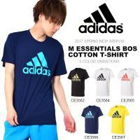 adidas (アディダス) M ESSENTIALS BOS コットン Tシャツ になります。  ...