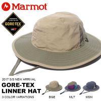 ピーチタッチの素材に防水・透湿性に優れたGORE-TEX(R)Linnerを採用した防水ハット。 ク...